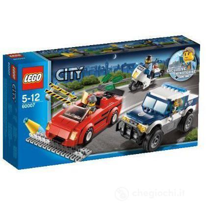 Inseguimento ad alta velocità - Lego City (60007)