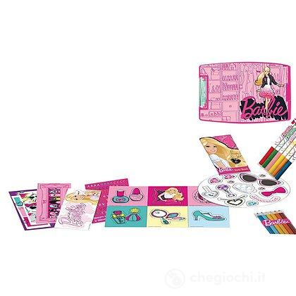 Set Multiattività Clip Desk colori Barbie (BA 960)