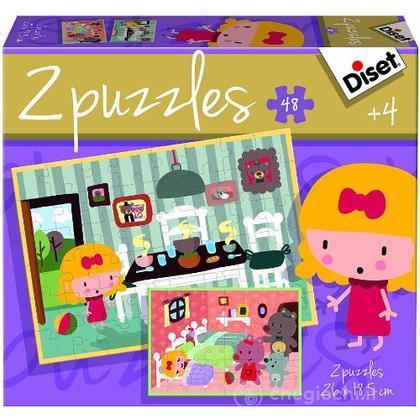 Puzzle Favole 2 2 X 48 (69964)