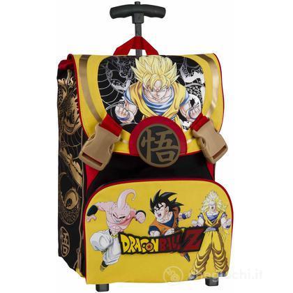 Zaino scuola con ruote estensibile Dragon Ball Z(85974)