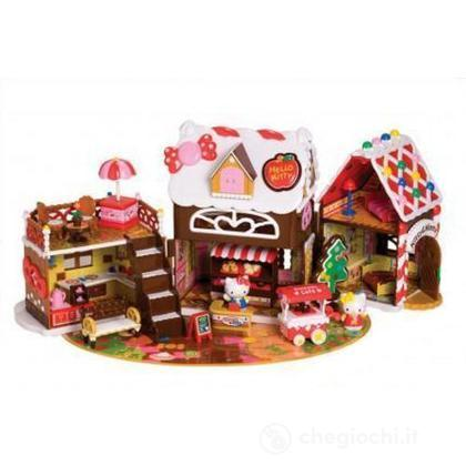 Hello Kitty - Sweet candy house con finsetra