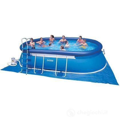 piscina frame ovale 610 x 366 x 122 57982 piscine