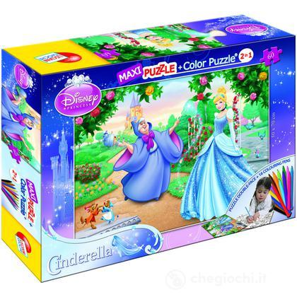 Puzzle Color Plus Maxi 60 Cenerentola (39821)