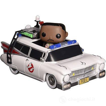 Ghostbusters - Winston Zeddemore con Ecto-1 (3982)