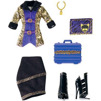 Monster High abiti e accessori - Clawdeen Wolf (W2552)