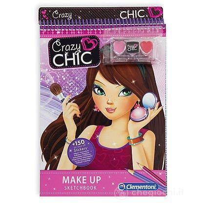 Crazy Chic Sketchbooks - Make Up (15992)