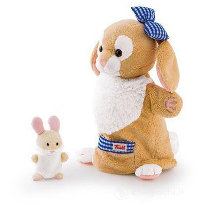 Marionetta Coniglia con coniglietto (29994)