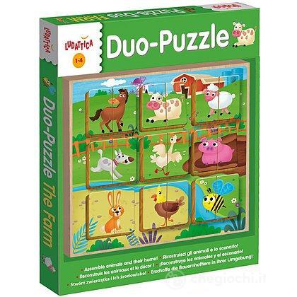 Legno Puzzle-Duo The Farm