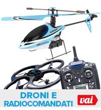 Droni e radiocomandati
