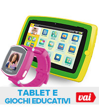 Tablet e giocattoli educativi