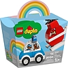 Elicottero antincendio e Auto della polizia - Lego Duplo (10957)