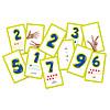 Numeri. Carte Montessori. Giochi di carte (8198)