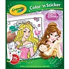 Album Color'n Sticker Disney Principesse (04-0202)