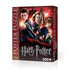 Harry Potter - Hogwarts School (Poster Puzzle 500 Pz)