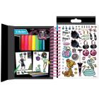 Monster High set da disegno Mini Sketch Book (FA64004)