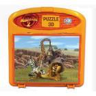 Puzzle 3D Madagascar 2