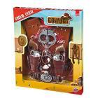 Set Cowboy Con Gilet-Pistole Con Cinturone