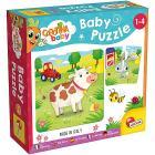 Carotina Baby Puzzle La Fattoria (80083)