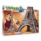 Torre Eiffel Tower (Puzzle 3D 816 Pz)