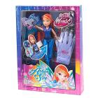 Winx Bloom Action Spy Light Up con Guanto per Bambina (WNX35000)