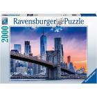 Puzzle 2000 pezzi Da Brooklyn A Manhattan (16011)