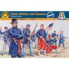Soldati Fanteria dell'Unione e zuavi 1/72 (IT6012)