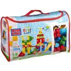 Sacca rettangolare Playground Maxi Blocchi 150 pezzi (08017V)