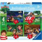 Monchhichi Puzzle 4 in a Box