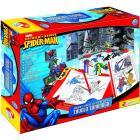 Spider-Man Disegna e Crea Storie con Tavolo Luminoso (40179)