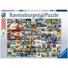 Puzzle 3000 pezzi 99 VW Bulli Moments (16018)