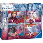 Frozen 2 Puzzle 4 in a box (3019)