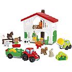 Abrick Fattoria con 7 animali, 2 personaggi e 2 veicoli (7600003021)