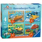 Octonauts Puzzle 4 in a box (07022)