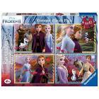Frozen 2 - Puzzle 4x42 Bumper Pack