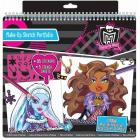 Monster High set da disegno Make-Up Sketch Portafolio (FA64025)
