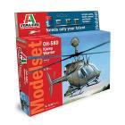 Elicottero 58d Kiowa Warrior (Kit, colori, colla, pennello)