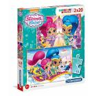 Shimmer And Shine 2 x 20 pezzi (7028)