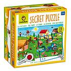La fattoria. Secret puzzle 24 pcs (620293)