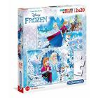 Frozen Puzzle 2 x 20 pezzi (7030)