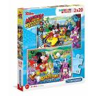 Mickey And The Roadster Racers 2 x 20 pezzi (7034)