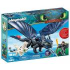 Hiccup con Sdentato Dragon Trainer III (70037)