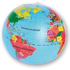 Mappamondo Geografico Gonnfiabile (0381)
