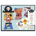 Pirati da costruire con la carta (DJ09042)