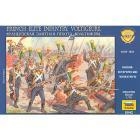 Soldati Fanteria francese d'elite Volteggiatori 1/72 (8042)