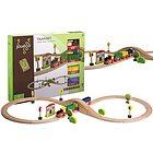 Set trenino in legno con accessori (80042)
