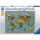 Puzzle 500 pezzi Mondo Di Farfalle (15043)