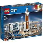 Razzo spaziale e Centro di controllo - Lego City (60228)