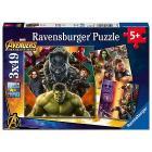 Avengers Infinity War Puzzle 3 x 49 (8049)