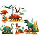 Dinosauri - Adesivi finestra (DD05050)