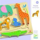 Puzzle in legno animali della giungla (DJ01052)